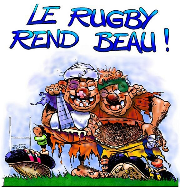 Rugby Humoristique Ze Blue Brothers Rugby Band